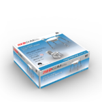 RG515 - SPACE SAVER TOILET SEAT RAISER - IN CLOSED BOX VISUAL