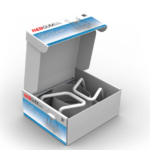 RG515 - SPACE SAVER TOILET SEAT RAISER - IN OPEN BOX VISUAL